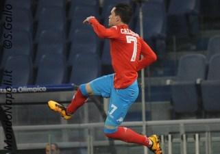 Callejon gol Lazio-Napoli