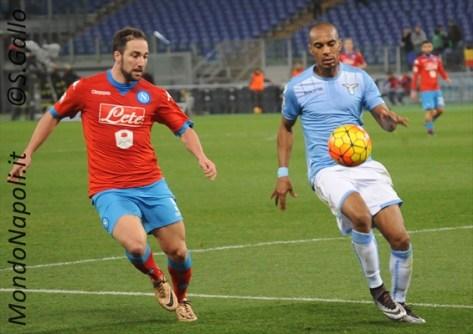 Higuain Konko Lazio-Napoli