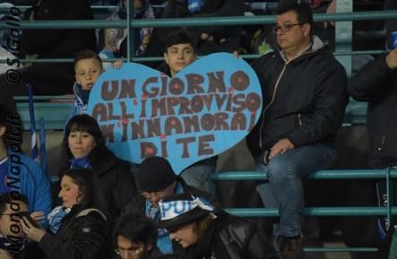 Napoli - Real Madrid tifosi