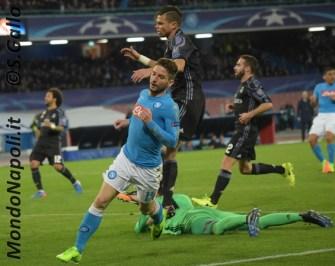 Napoli - Real Madrid mertens pepe