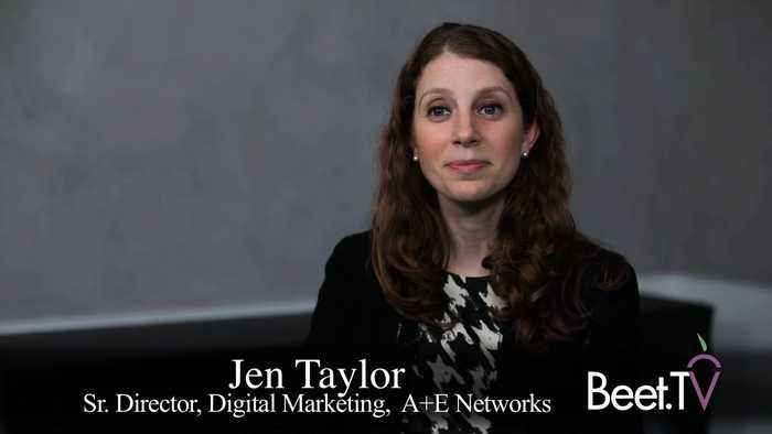 A&E's Taylor: 'Attribution Exists in a Way It Didn't 5 Years Ago'
