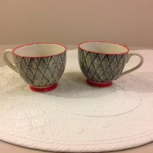 tazza in ceramica fantasia