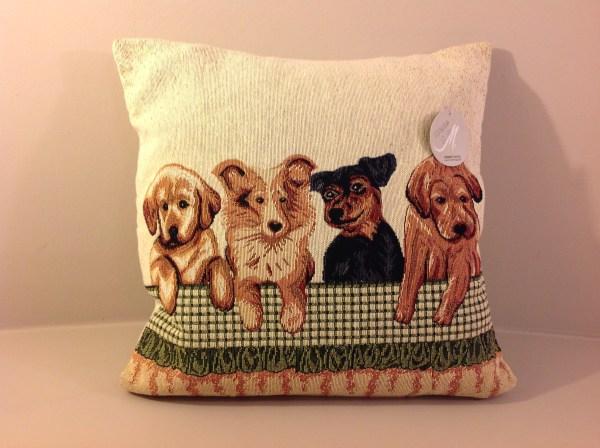 cuscino con cane