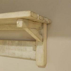mensola da muro legno di mango