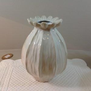 vaso ceramica panna\beige