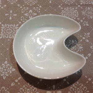 Brandani Lettera C in porcellana bianca