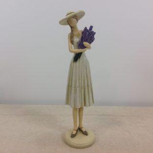 Amadeus Statua Donna con lavanda