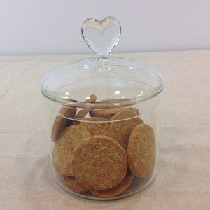 Côté Table Barattolo in vetro soffiato con tappo con cuore