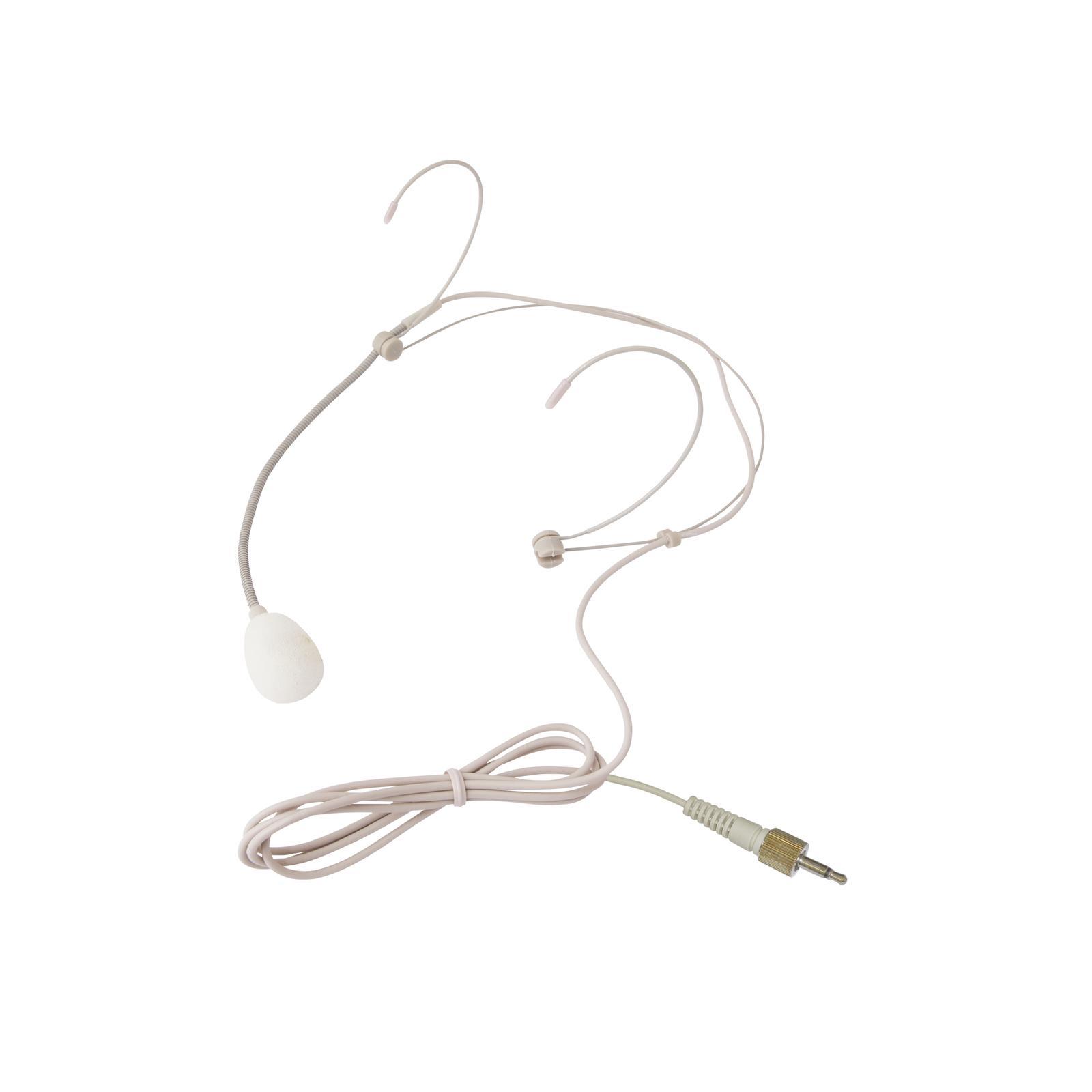 Omnitronic Uhf 200 Hs Headset Microphone Su