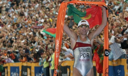 Vanessa Fernandes al via dell'ITU World Triathlon Abu Dhabi!