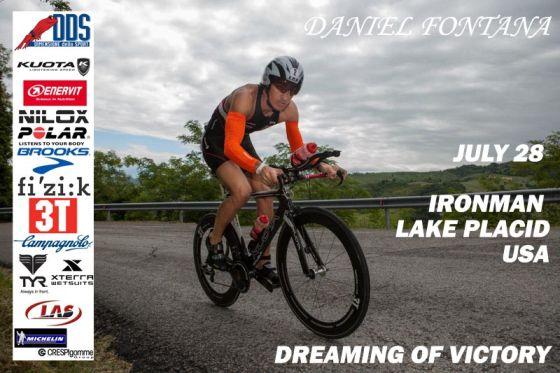 Daniel Fontana pronto all'assalto dell'Ironman Lake Placid 2013