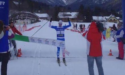 Roberta Gasparini e Daniel Antonioli Tricolori di Winter Triathlon a Tarvisio