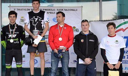 Sara Dossena e Andrea De Ponti vincono il Triathlon di Pinerolo