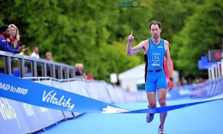 Michele Ferrarin è d'oro al London ITU World Paratriathlon