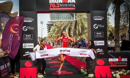 Daniela Ryf all'Ironman 70.3 Bahrain diventa #milliondollarbaby!