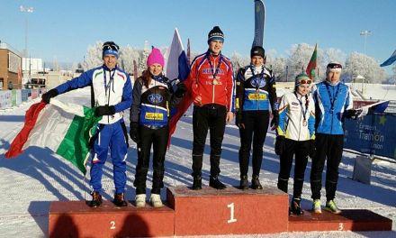 Marco Liporace argento agli Europei di winter triathlon