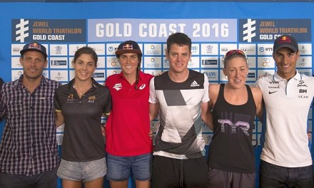 La start list dell'ITU World Triathlon Gold Coast