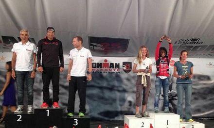 Angela Stefani di ferro all'Ironman Lanzarote!