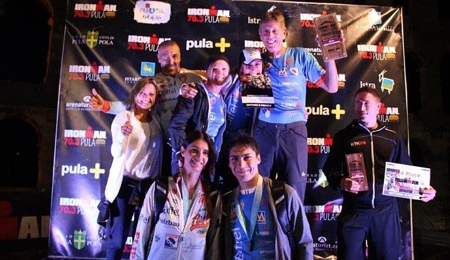 Flipper Triathlon campione d'Europa 2016 nell'Ironman TriClub Program