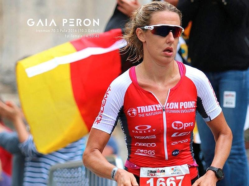 L'italiana Gaia Peron, all'esordio sulla distanza, vince in Croazia il 18 settembre l'Ironman 70.3 Pula 2016