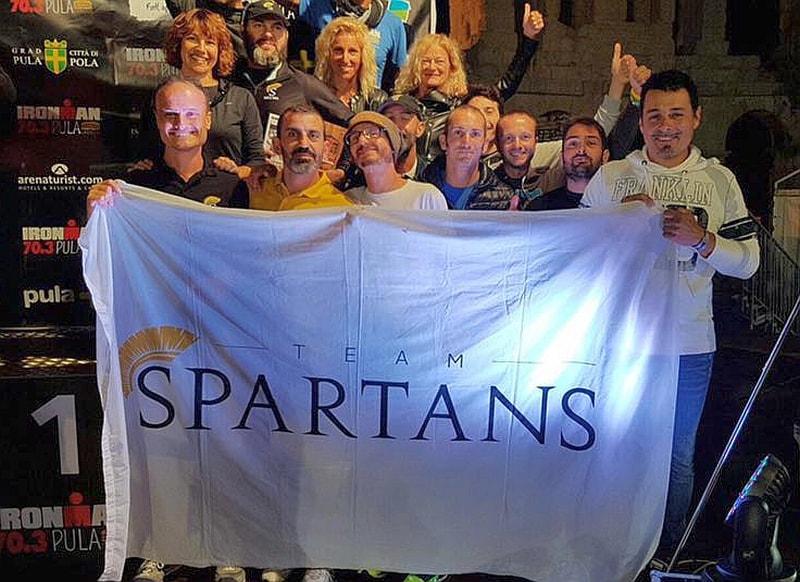 Gradino basso del podio per lo Spartans all'Ironman TriClub Program 2016