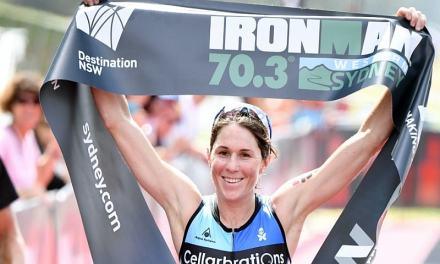Annabel Luxford domina l'Ironman 70.3 Geelong