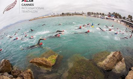 Giulio Molinari e Alessandro Degasperi al Cannes International Triathlon