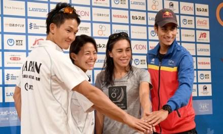 I numeri della 3^ tappa dell'ITU World Triathlon Series a Yokohama