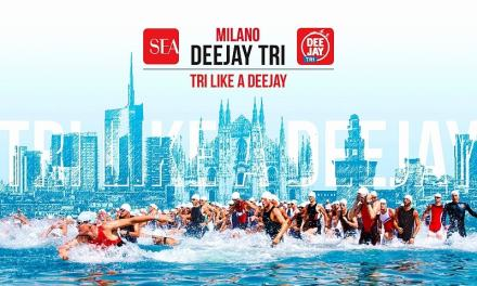 Al SEA Deejay TRI Milano 2.600 triatleti!