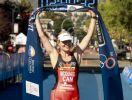 Melanie Mcquaid è la campionessa mondiale di cross triathlon 2017, disputato a Penticton, Canada (Foto ©Finisherpix.com / H. Olsson