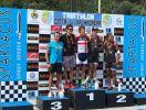I primi cinque uomini del Triathlon Sprint di Valmadrera 2017: Valerio Patané, Gonzalo Tellechea, Michele Sarzilla, Stefano Micotti e Facundo Medard (Foto ©Spartacus Events)