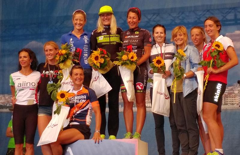 Martina Dogana terza al Let's Go Triathlon Grado 2017