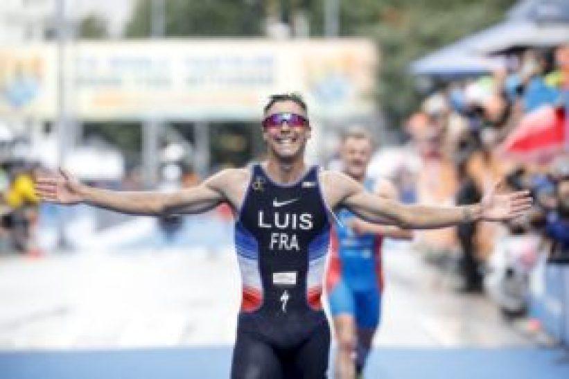 Vincent Luis è il più veloce all'ITU World Triathlon Grand Final Rotterdam 2017 (Foto ©ITU Media / Wagner Araujo)