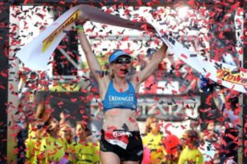 L'inglese Lucy Gossage è la regina del 1° Ironman Cervia Emilia Romagna (Foto ©Brynn Lennon/Getty Images for IRONMAN)