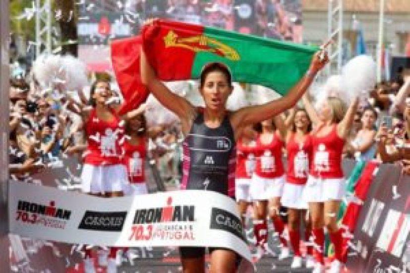 Vanessa Fernandes è la più veloce all'Ironman 70.3 Cascais-Portugal 2017