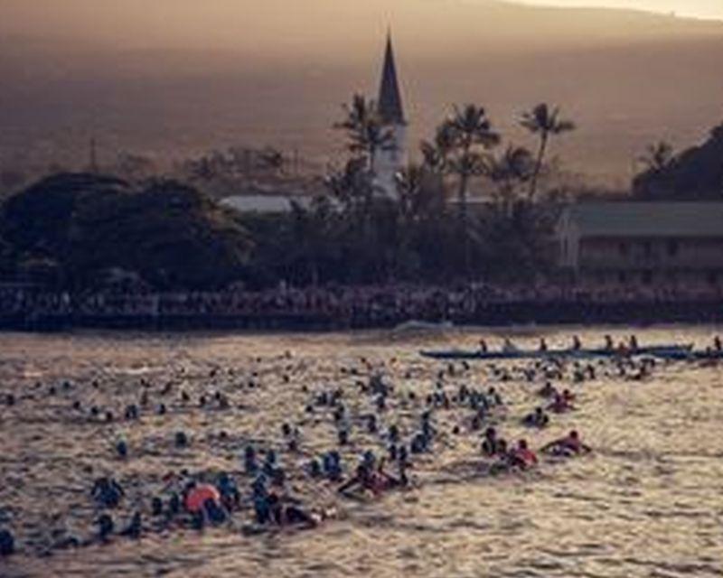 Ironman Hawaii: il video dello start degli Age Group men