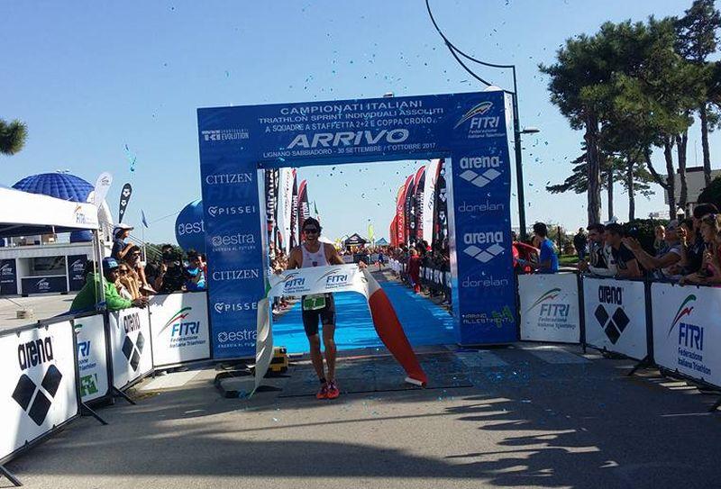 Italiani Triathlon Sprint: la video intervista con Alessandro Fabian