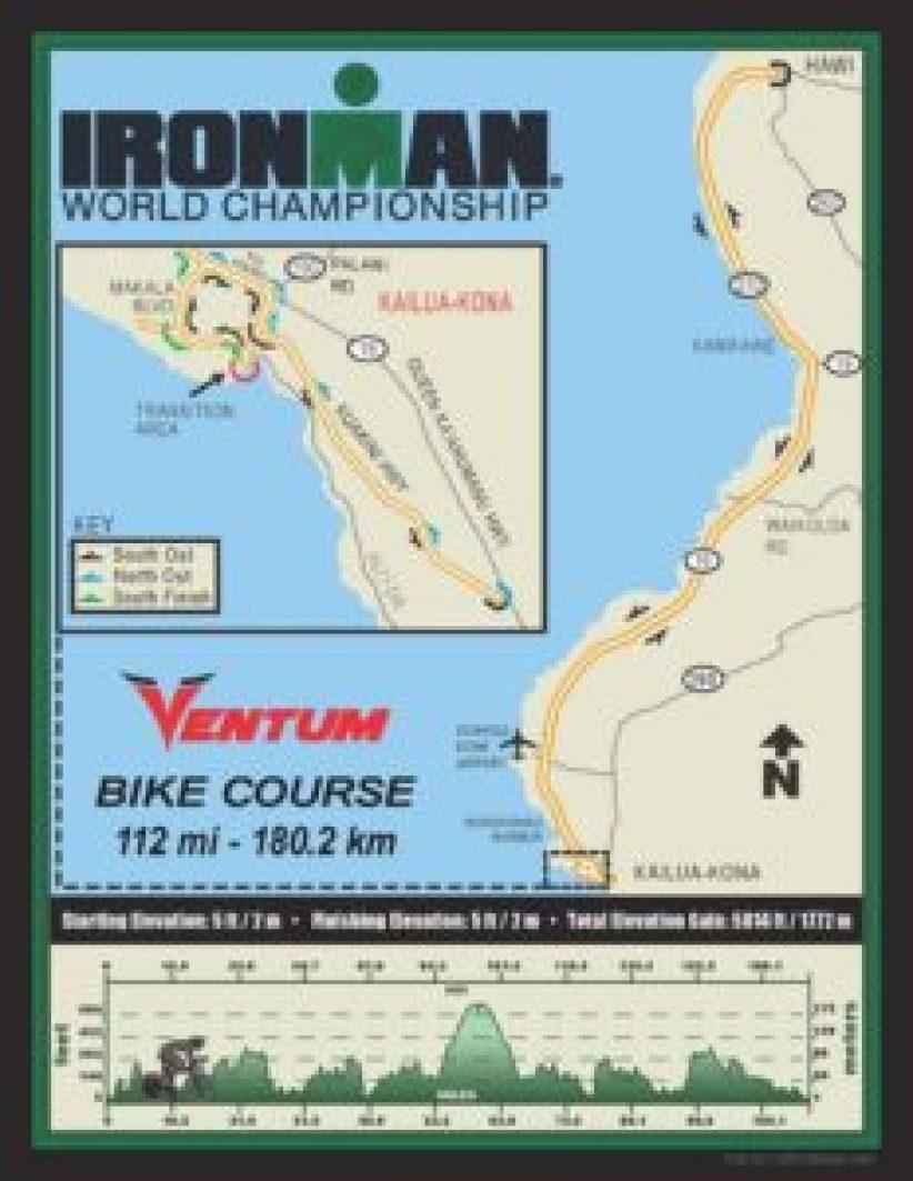 Il percorso bike dell'Ironman World Championship 2017, Kona-Hawaii