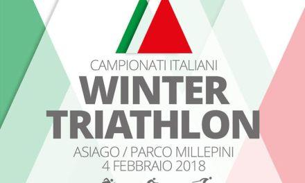 Il 4 febbraio sarà Tricolori di winter triathlon 2018!