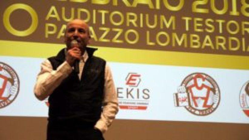 Aldo Rock Calandro ha deliziato la platea con le sue perle di saggezza (Foto ©Social Reporters)