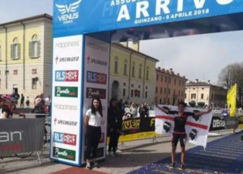 Elisabetta Curridori (Tri Nuoro) si è laureata Campionessa Italiana di duathlon 2018 cat. Elite