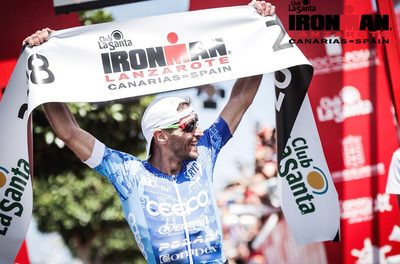Alessandro Degasperi vince l'Ironman Lanzarote!