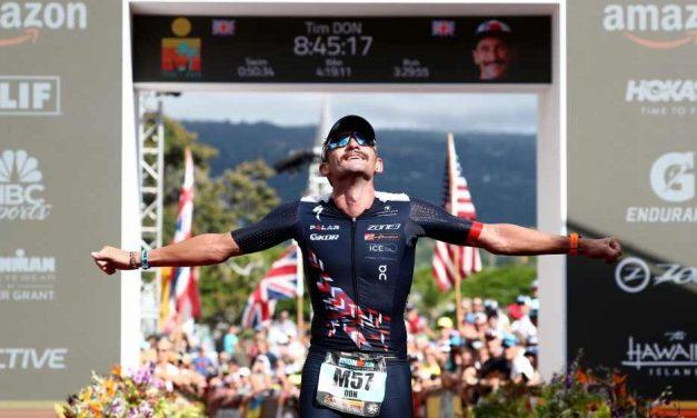 Tim Don correrà l'Ironman Italy-Emilia Romagna