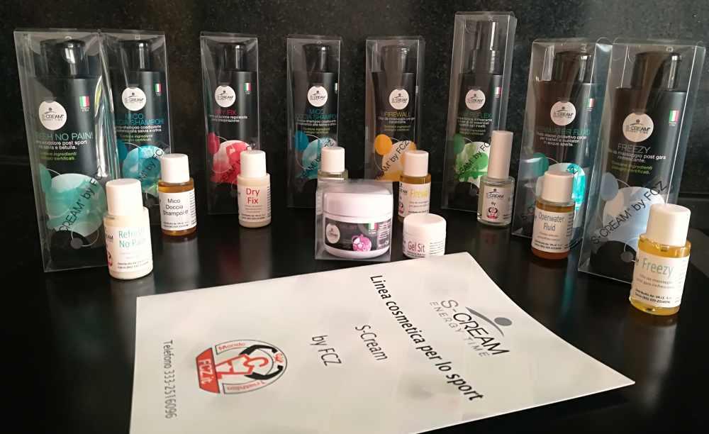 S-Cream, la linea di prodotti cosmetici pensata per il triatleta