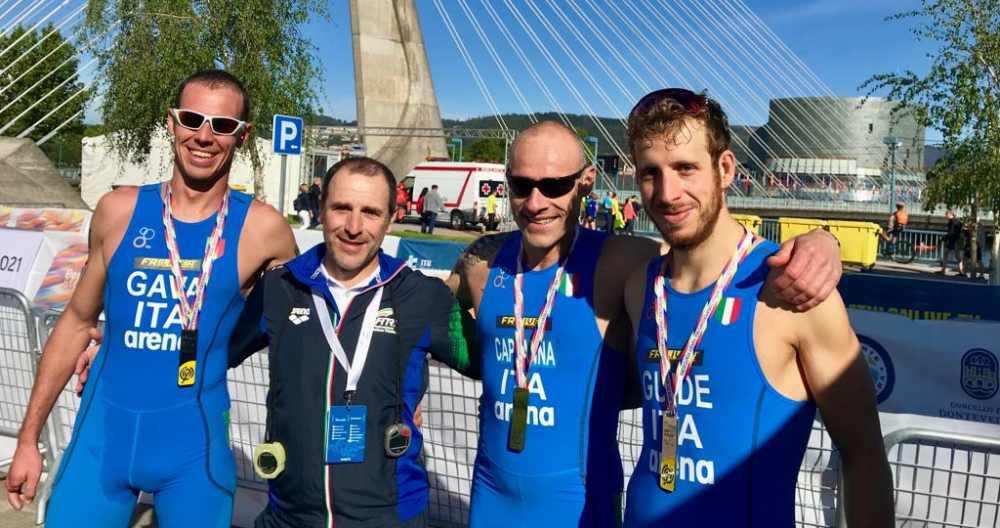 Gava, Biava, Cappanna e Rossetti ai Mondiali di Duathlon 2019 a Pontevedra
