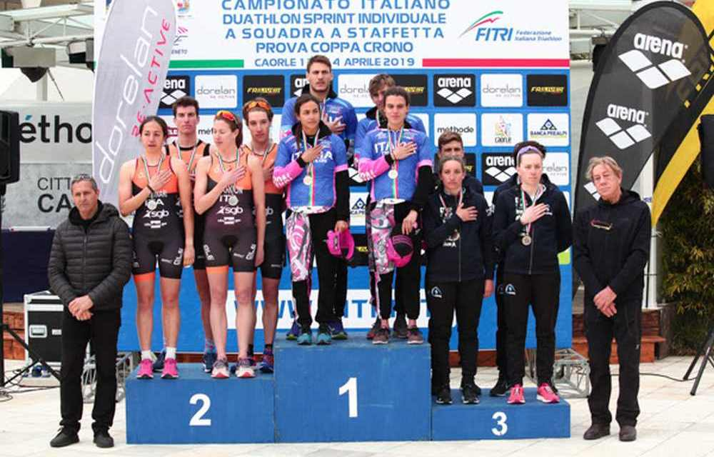 I video dei Tricolori di Duathlon di Caorle 2019