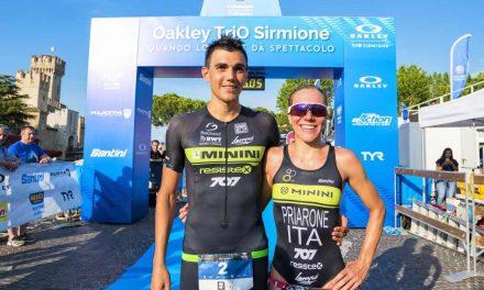 """Oakley TriO Sirmione, vincono i """"707"""" Giorgia Priarone e Luca Facchinetti"""