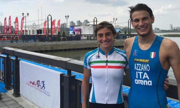 Gli azzurri Missaglia e Azzano nella top 10 degli Europei di triathlon sprint. Titolo a Derron e Benson