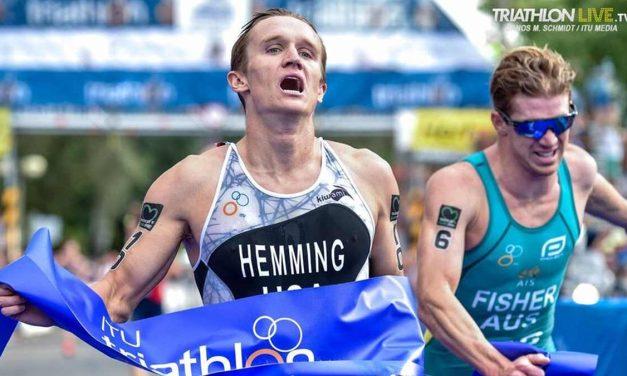 Triathlon World Cup a Tiszaujvaros: gli ultimi metri valgono oro per Jeffcoat e Hemming