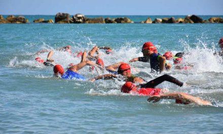 Triathlon Sprint Termoli, più forti del maltempo. I più veloci sono Principe e Boraschi
